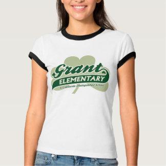 Women's Grant Logo Ringer Tee