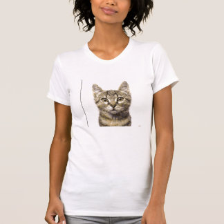 Womens Graphic Cat Tee shirt