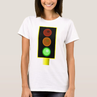 Womens Green Traffic Light Shirt