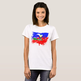 Women's Haiti Flag T-Shirt