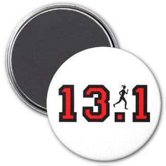 Womens half marathon magnet