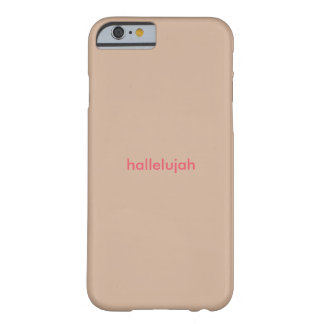 Women's hallelujah iphone case barely there iPhone 6 case