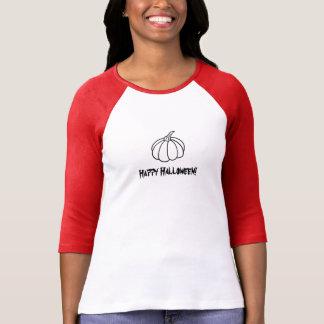 Women's Halloween Pumpkin 3/4 Shirt