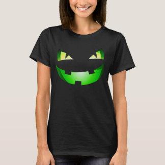 Women's Halloween scary pumpkin costume T-Shirt
