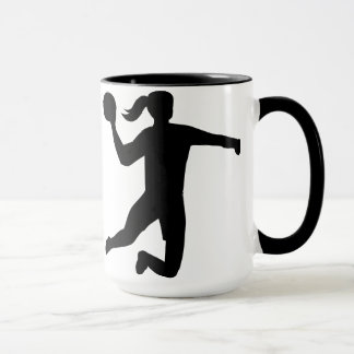 Womens handball mug