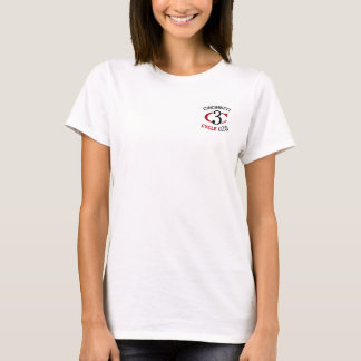 Women's Hanes ComfortSoft® T-Shirt Full CCC Logo