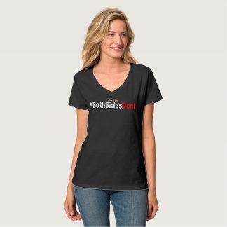 Women's Hanes Nano V-Neck T-Shirt - #BothSidesDont