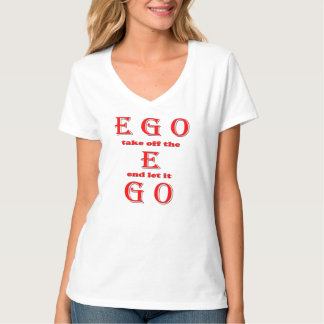 Women's Hanes Nano V-Neck T-Shirt, White-EGO T-shirts