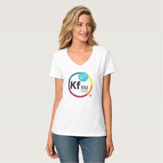 Women's Hanes Nano V-Neck T-Shirt with KFSSI Logo