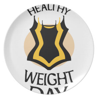 Women's Healthy Weight Day - Appreciation Day Plate
