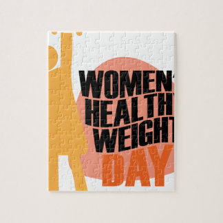 Women's Healthy Weight Day - Appreciation Day Puzzles