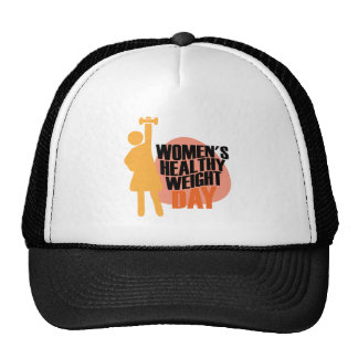 Women's Healthy Weight Day - Appreciation Day Trucker Hat