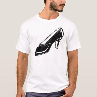 Womens High Heel Shoe drawing T-Shirt