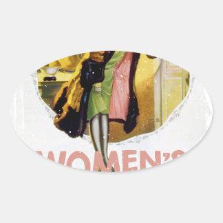 Women's History Month - Appreciation Day Oval Sticker