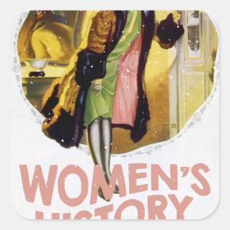 Women's History Month - Appreciation Day Square Sticker