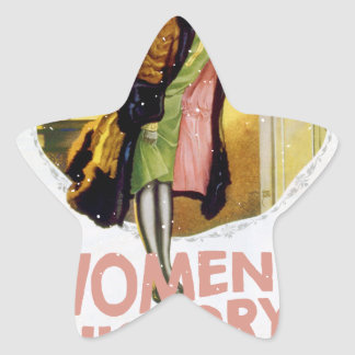 Women's History Month - Appreciation Day Star Sticker