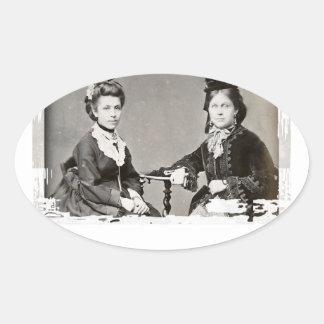 Women's History Month Oval Sticker