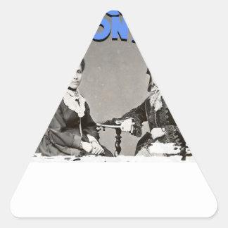 Women's History Month Triangle Sticker