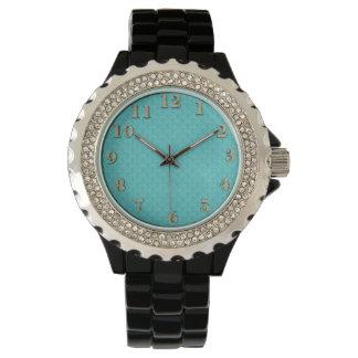 Women's-Hodge-Podge(c)_Design's_Aqua_Old Gold Watch
