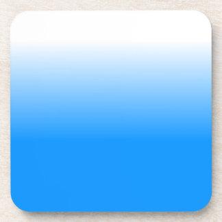 Women's Home Decor Trendy Blue Ombre Coaster