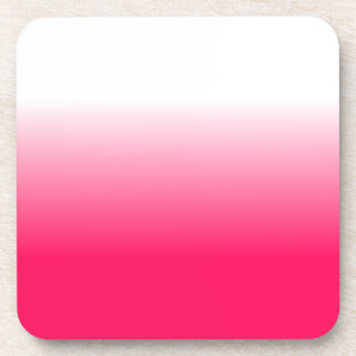 Women's Home Decor Trendy Pink Ombre Coaster
