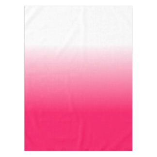 Women's Home Decor Trendy Pink Ombre Tablecloth
