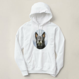 Women's hooded German Shepherd dog sweatshirt