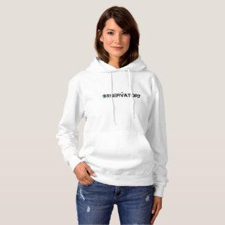 Women's Hooded Sweatshirt - The Observatory
