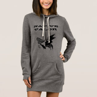 Women's Hoodie Dress with Graphic design
