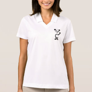 Women's  Hoodie with panda bear cartoon