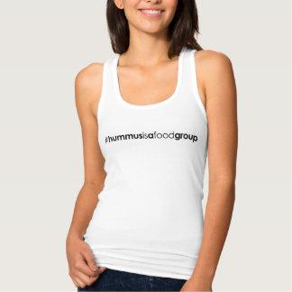 Women's #hummusisafoodgroup Racerback Tank Top
