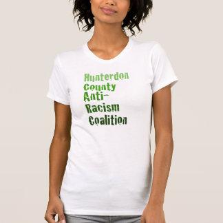 Women's Hunterdon Anti-Racism Shirt Ombre Text