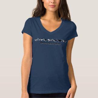 Women's Husky Shirt Personalized Sled Dog T-Shirts