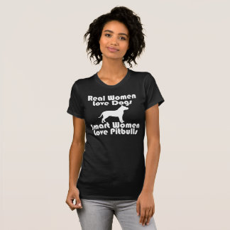 Women's I Love Dogs Black T-Shirt