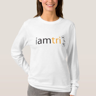 Women's iamtri fitted hoodie