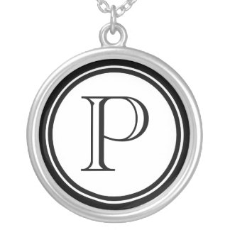 Women's Initial Necklace
