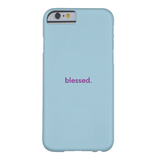 Women's Iphone Case Blessed Barely There iPhone 6 Case