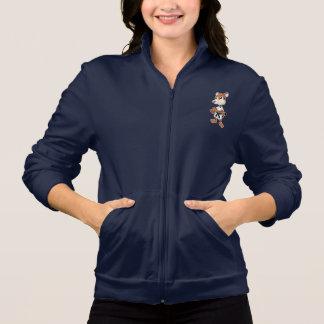 Women's  Jacket with taekwon-do tiger cartoon