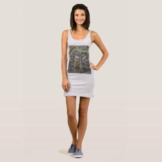 """Women's Jersey Tank Dress """"Funky Mikey"""""""