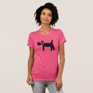 Womens - John Dyer Scotty Dog T-Shirt