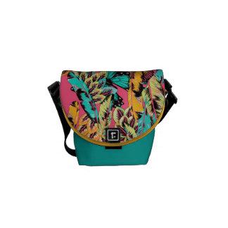 Women's Jungle Print Mini Messenger Bag