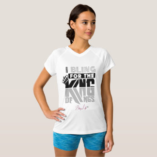 Women's King of Kings Double-Dry V-Neck T-Shirt