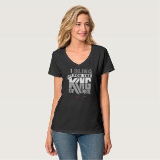 Women's King Of Kings Hanes Nano V-Neck T-Shirt
