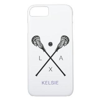 Women's Lacrosse Sticks LAX iPhone 8/7 Case