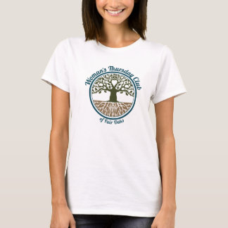 Women's Large White Tee