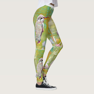 "Women's Leggings ""Baby Hummer"" in Pastel"