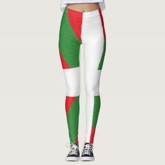 Women's Leggings - Basque Flag