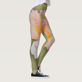 "Women's Leggings ""Beauty Rose in Metal"""