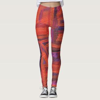 Women's leggings - custom graphic art