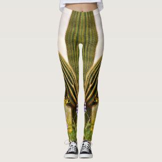 "Women's Leggings ""Double Saguaro Arms"""